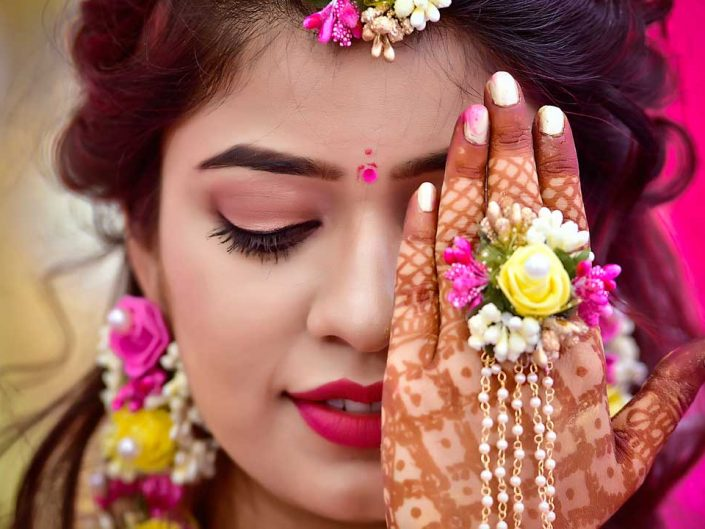 Haldi And Mehndi Photography